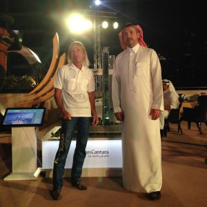 Cayan Group Dubai Alain Spiderman Robert interview tv show