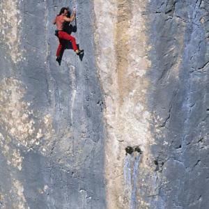 Verdon France mountain climbing Alain Spiderman Robert montagne escalade