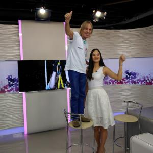 Tv show with Alain Robert Spiderman emission television