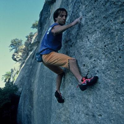 La nuit du lezard climb by Alain Robert Spiderman escalade grimpeur