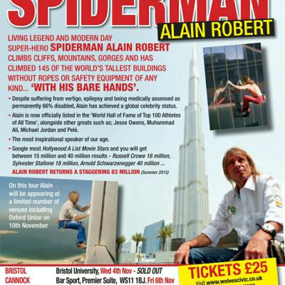 The incredible Alain Spider-man Robert event Bare hands